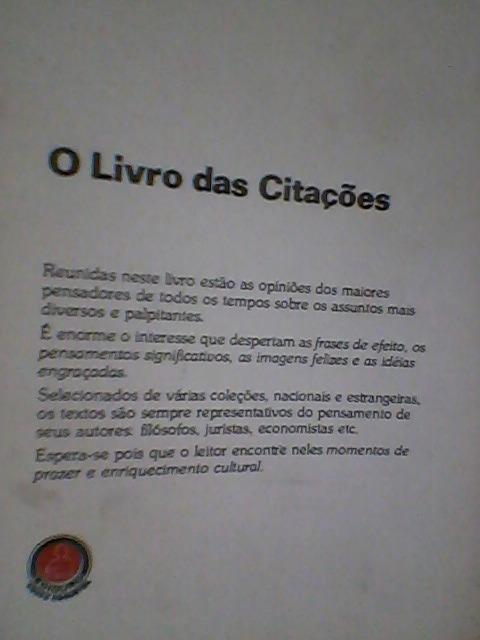 O Livro Das Citacoes E Frases Celebres Como Nuevoenvios 33000