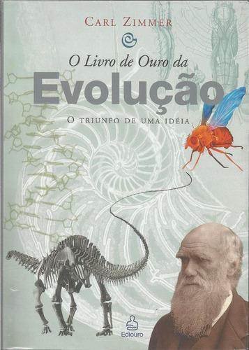 o livro de ouro da evolução -  carl zimmer