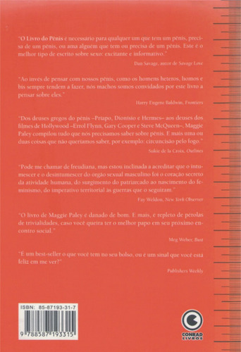 o livro do pênis - maggie paley