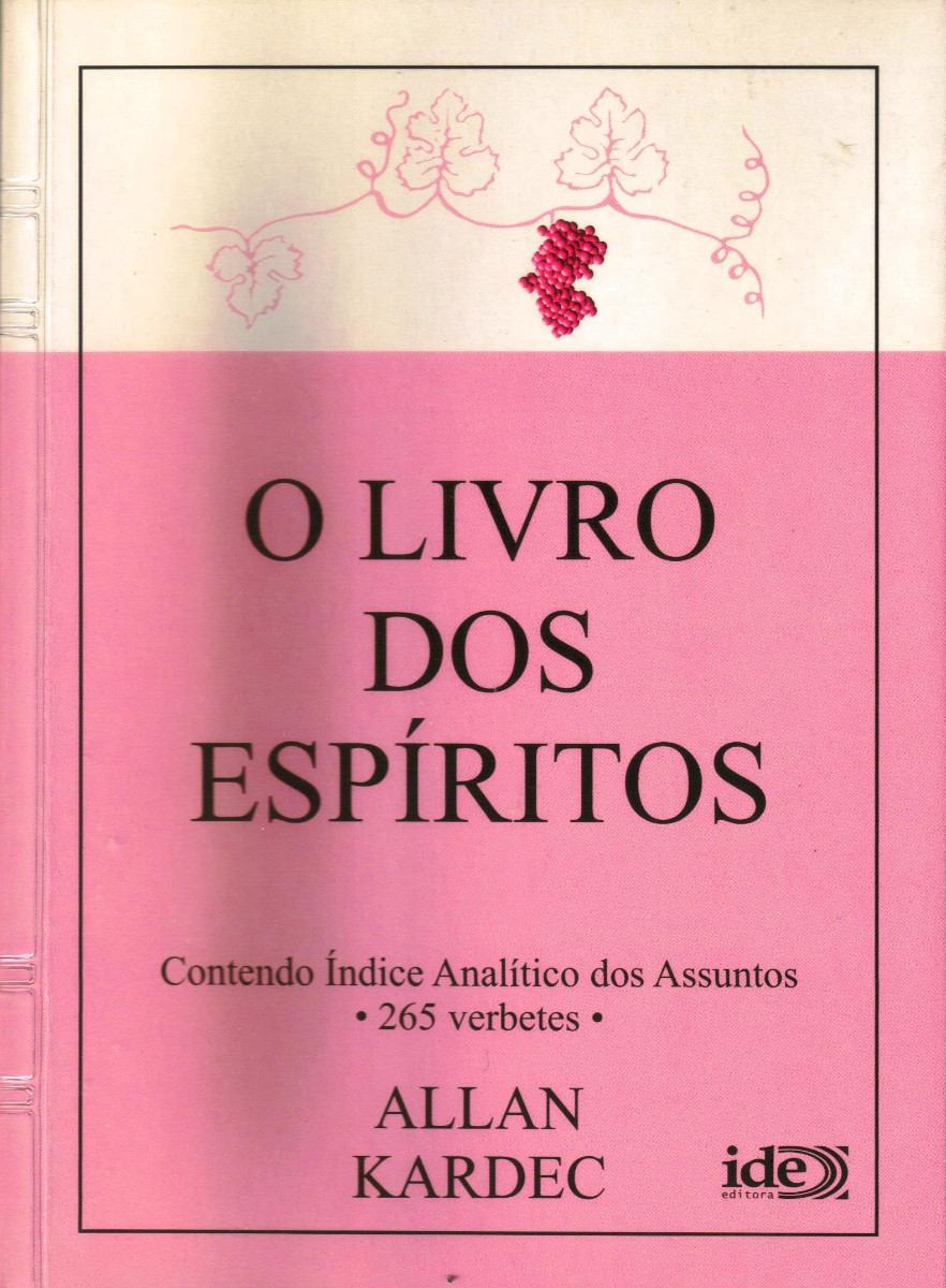 O Livro Dos Espiritos - Allan Kardec - R$ 18,00 em Mercado