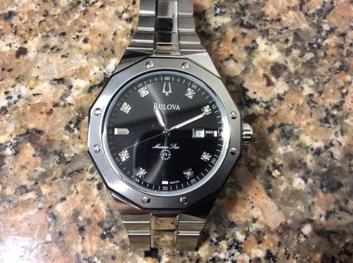 «o. luxuss» reloj bulova star marin original