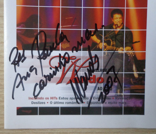 o melhor de wando ao vivo - cd autografado