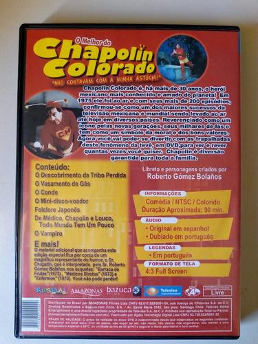 o melhor do chapolin colorado dvd
