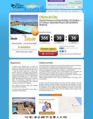 o melhor site de compra coletiva - veja vídeo e a demo !