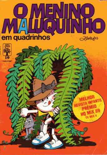 o menino maluquinho em quadrinhos nº10 ed. abril - maio/1990