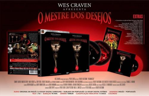 o mestre dos desejos - dvd duplo + cd - tammy lauren