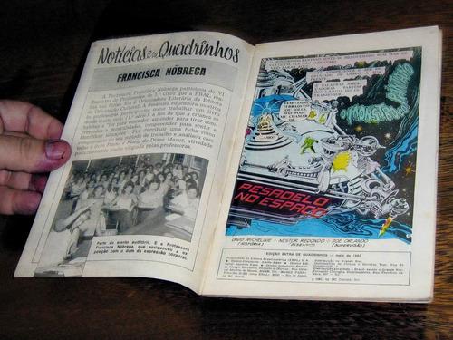 o monstro do pântano edição extra  maio /1982  editora ebal