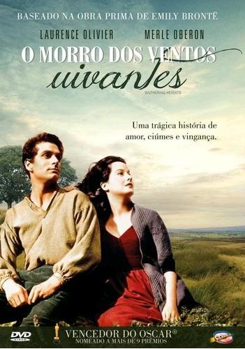 o morro dos ventos uivantes - dvd - laurence olivier - novo