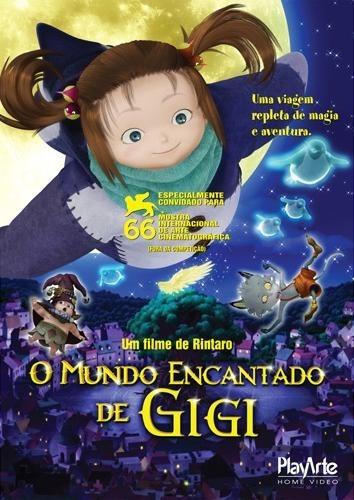 o mundo encantado de gigi - dvd - rica matsumoto