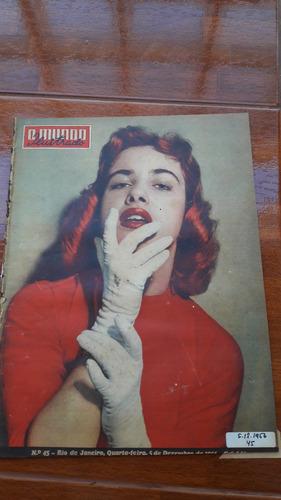 o mundo ilustrado nº45 de 1956