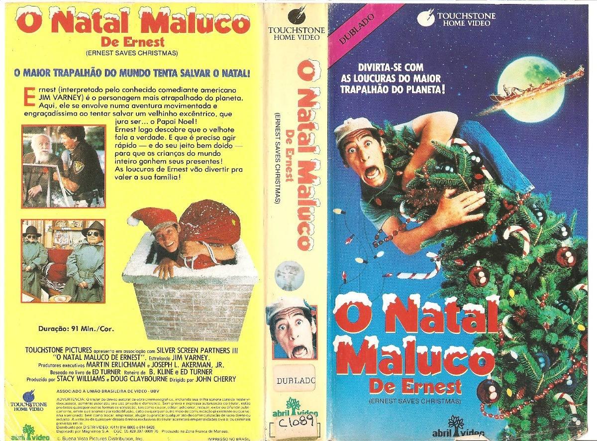 O Natal Maluco De Ernest - Jim Varney - Raro - Dublado - R$ 35,10 ...