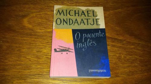 o paciente inglês - michael ondaatje - livro novo