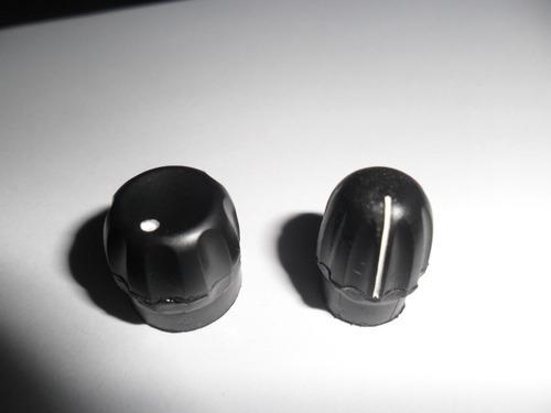 o par knobs liga/desl. e canal, p/ ep-450,pro-5150,pro-3150.