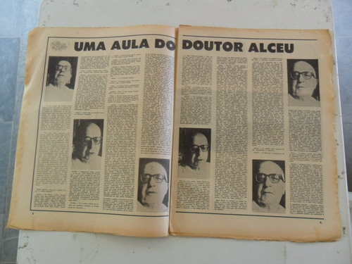 o pasquim nº 13! set 1969! entrevista alceu amoroso lima!