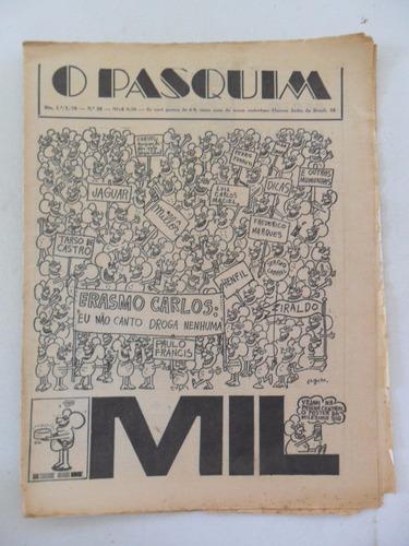 o pasquim nº 28! jan 1970! entrevista erasmo carlos