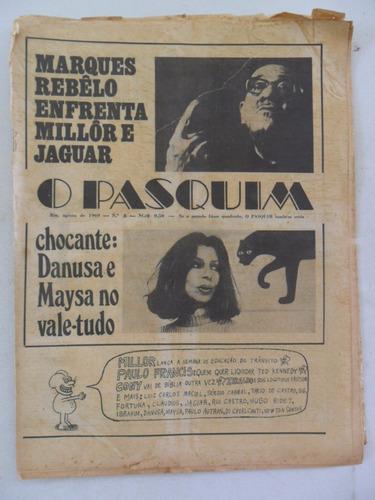 o pasquim nº 8! agosto 1969! entrevista marques rebêlo!