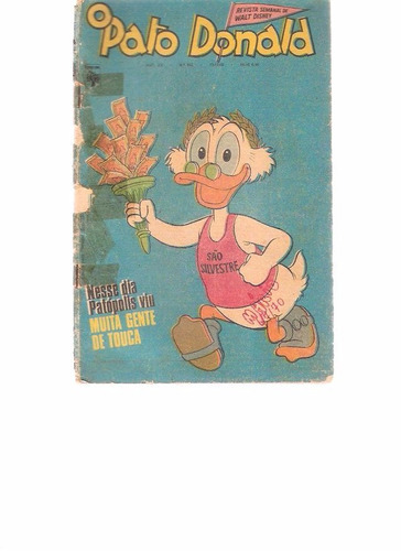 o pato donald 946 - 1969 - ed. abril