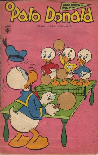 o pato donald nº 1174 de 10-05-1974 imagens da revista