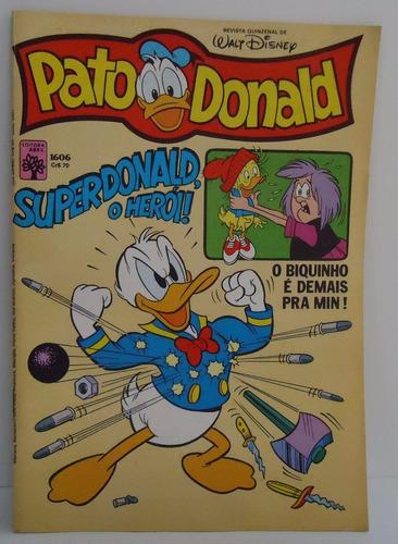 o pato donald - nº 1606 - 13/8/82 - by trekus vintage