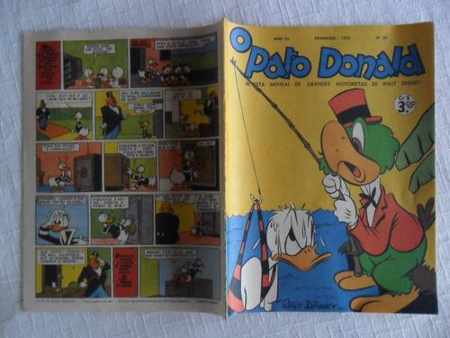 o pato donald nº 20! fev 1952! facsimile de 1988!