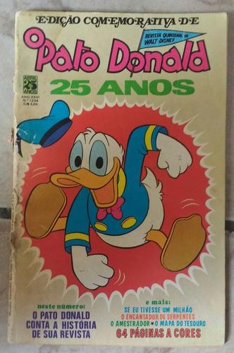 o pato donald nº1234 da editora abril.