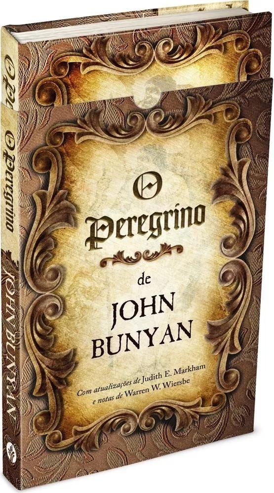 O Peregrino Capa Dura Livro John Bunyan Caixa - R$ 32,32