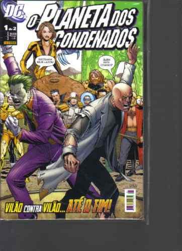 o planeta dos condenados mini-serie em 2 volumes completa