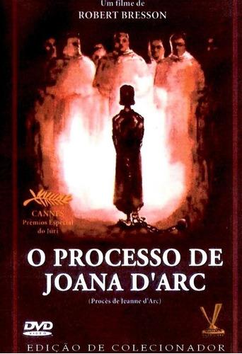 o processo de joana d'arc - dvd - robert bresson - lacrado