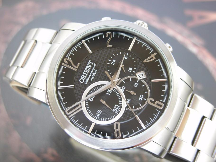 2af7341e9eb o r i e n t relógio orient aço cronografo masculino. Carregando zoom.