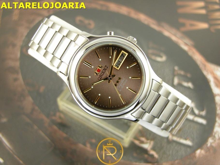 f5861c55a00 o r i e n t relógio orient automatico classico aço 02021p9. Carregando zoom.
