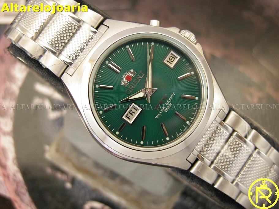dde7d465b97 o r i e n t relógio orient automatico classico aço 5a00rf9. Carregando zoom.