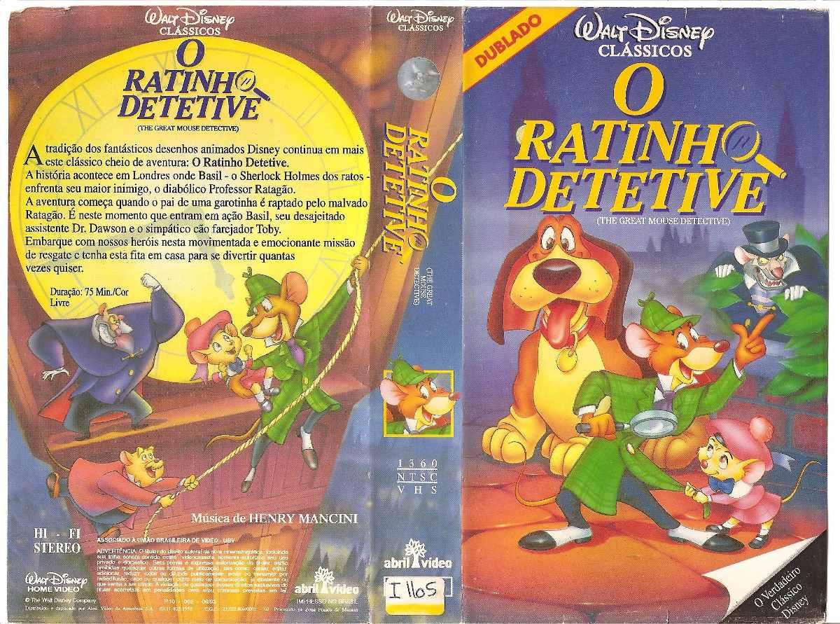 o ratinho detetive para