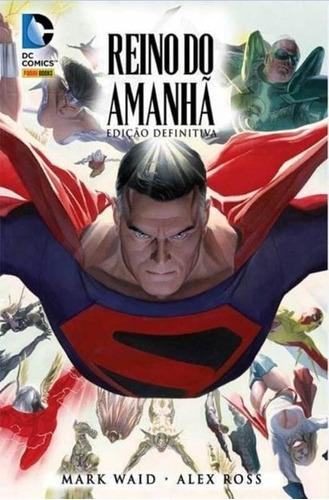 o reino do amanhã - edição definitiva - dc comics