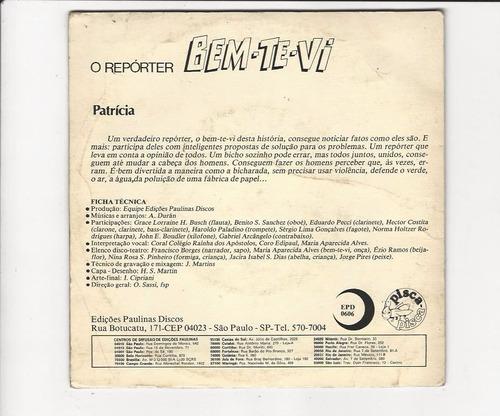 o repórter bem-te-vi - 1982 - compacto - ep 49