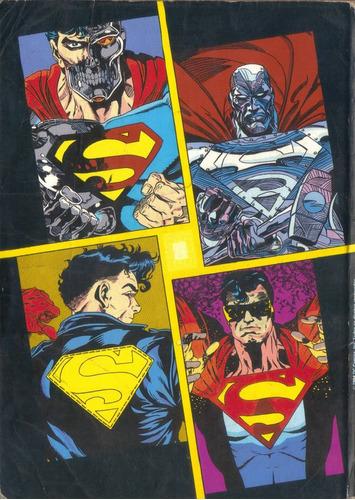 o retorno do super-homem - nº 1 da minissérie em 3 edições