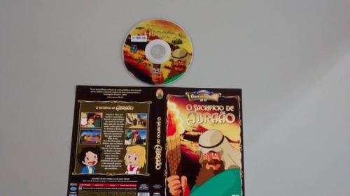 o sacrificio de abrahão desenho bíblico dvd original