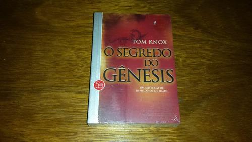 o segredo do genesis - tom knox - novo