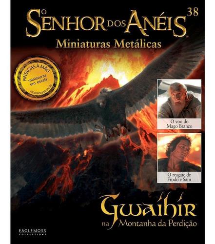 o senhor dos anéis - gwaihir na montanha - miniatura