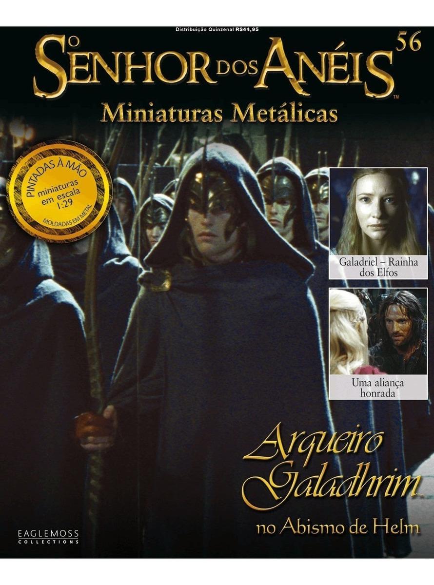 O Senhor Dos Anéis Miniaturas - Ed 56 - Arqueiro Galadhrim