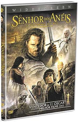o senhor dos anéis o retorno do rei dvd duplo widescreen