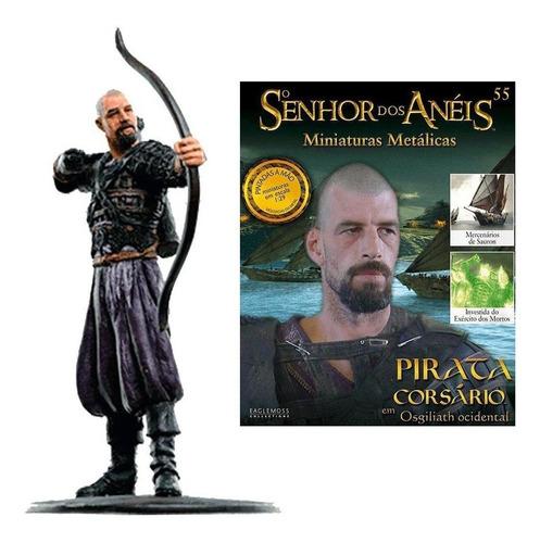 o senhor dos anéis - pirata corsário em osgiliat - miniatura