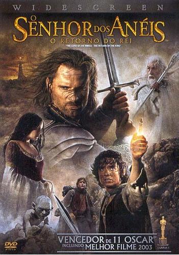 o senhor dos anéis -retorno do rei -dvd