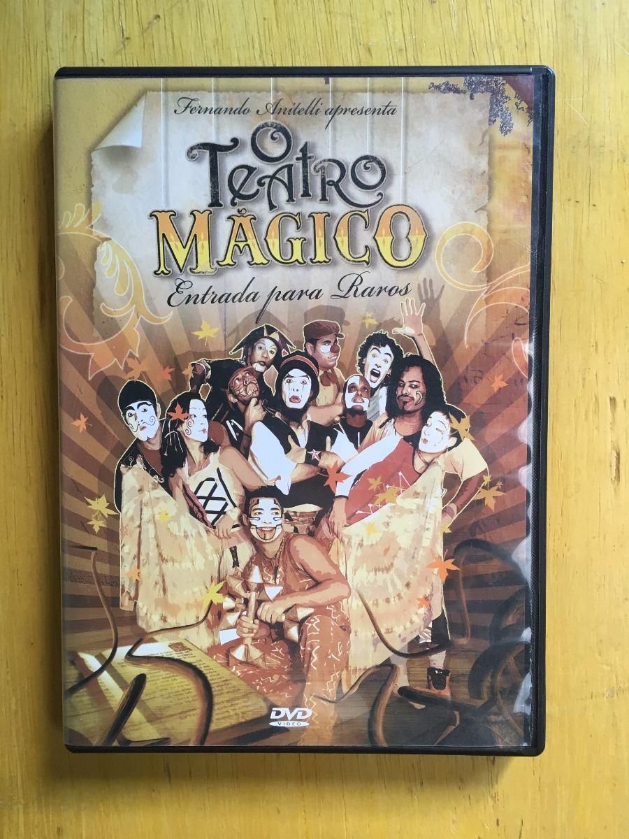 dvd o teatro mgico entrada para raros