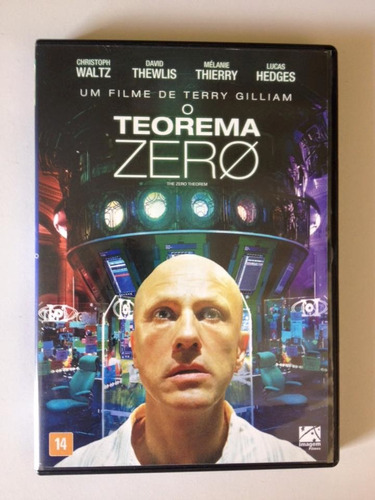 o teorema zero dvd - chritoph waltz