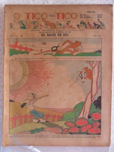 o tico tico nº 1.165! 1 fev 1928!