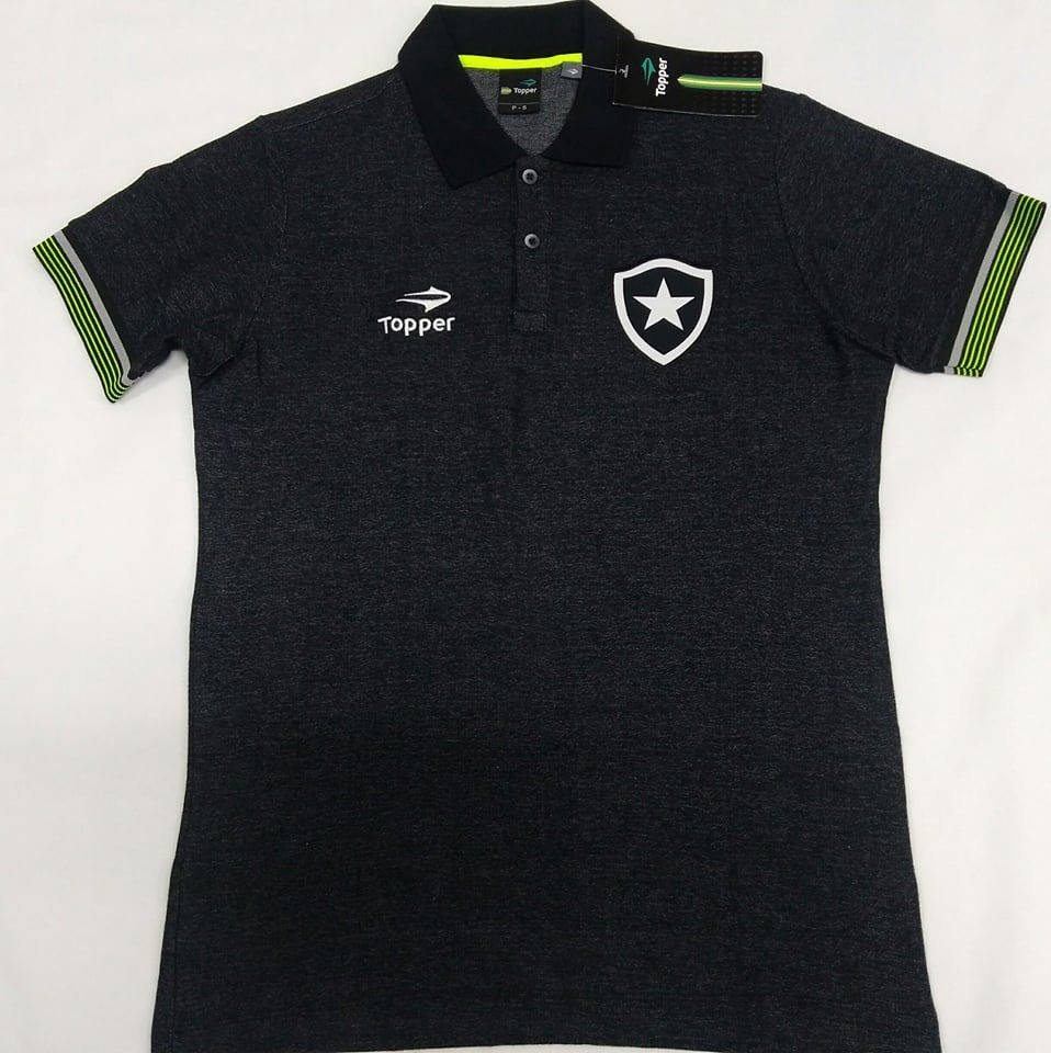 495677ee75 ... O U T L E T 413 Camisa Botafogo Polo Viagem Topper Oficial - R 60 ...  d2526b108b1df8 ...