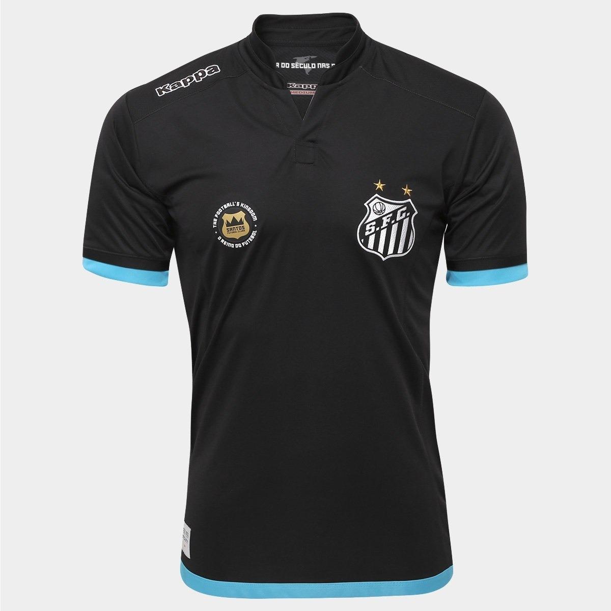 635ac73e97 o u t l e t 477 camisa santos goleiro oficial kappa 2016 17. Carregando  zoom.