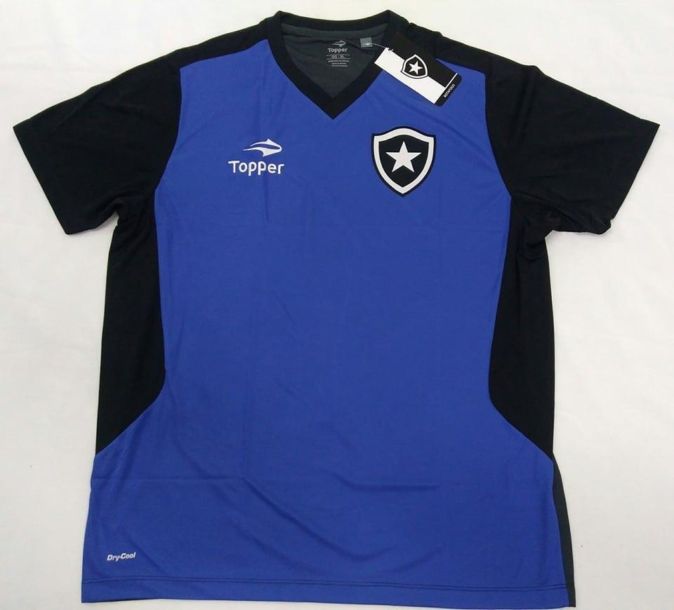 O U T L E T 487- Camisa Botafogo Treino Goleiro Topper 2016 - R  78 ... 83ff13098de81