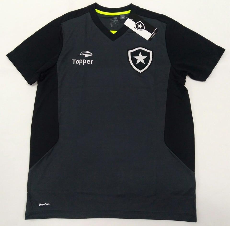4ddc5ce68b O U T L E T 512- Camisa Botafogo Treino Oficial Topper 2016 - R  68 ...