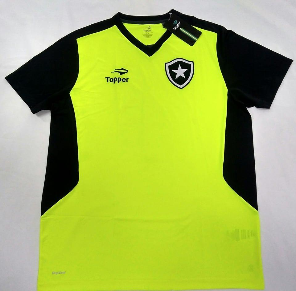 f73fdc30f9109 O U T L E T 520 - Camisa Botafogo Oficial Treino Topper 2016 - R  74 ...